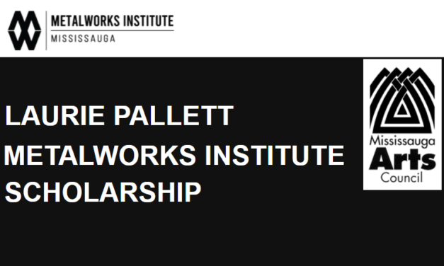 LAURIE PALLETT METALWORKS INSTITUTE SCHOLARSHIP