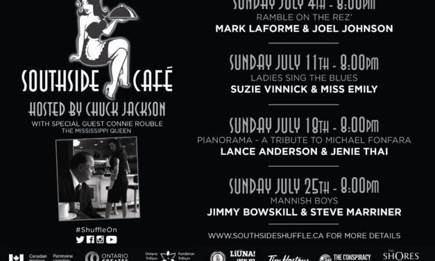 Tim Hortons Southside Shuffle presents the Southside Café