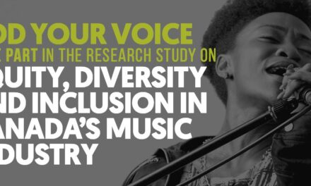 Survey: Diversity and Inclusion in Canada's Music Industry