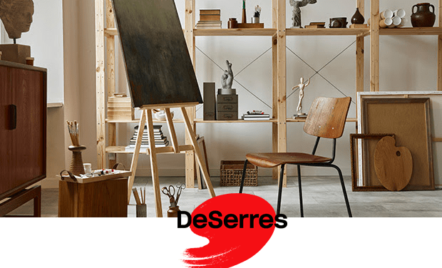 DESERRES: Useful tips to keep a well-organized studio