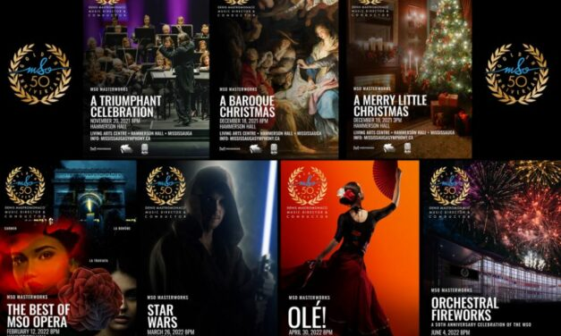 Mississauga Symphony Orchestra Announces its 50th Anniversary Concert Season