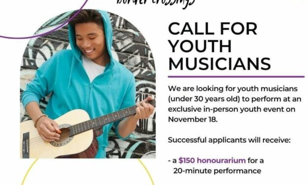 Call for Youth Musicians – Art Gallery of Mississauga