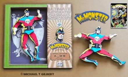 National Comic Book Day: Custom Handmade Cardboard Collectible Action Figures & Art