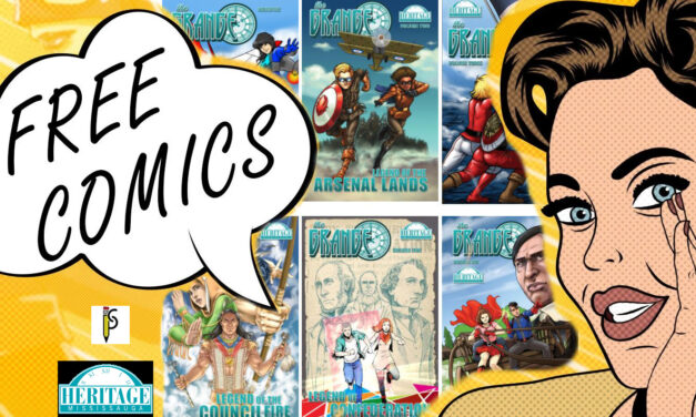 National Comic Book Day: Heritage Mississauga's THE GRANGE series