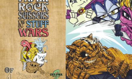 National Comic Book Day: Paper Rock Scissors N' Stuff