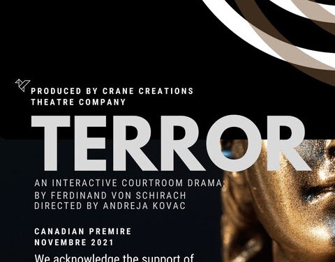 Casting Call – Crane Creations Theatre Company – Terror   Auditions open September 15-17