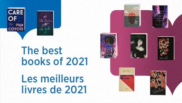 2021 GGBooks finalists revealed | Appel :  Dévoilement des finalistes des LivresGG 2021