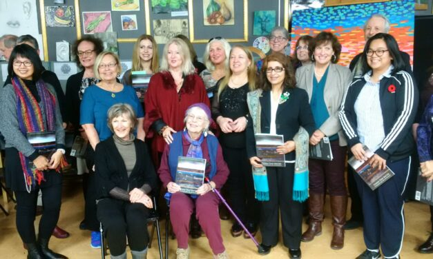 """""""Things that Matter""""  anthology by various Ontario authors.  Launch at Oakville Art Centre"""