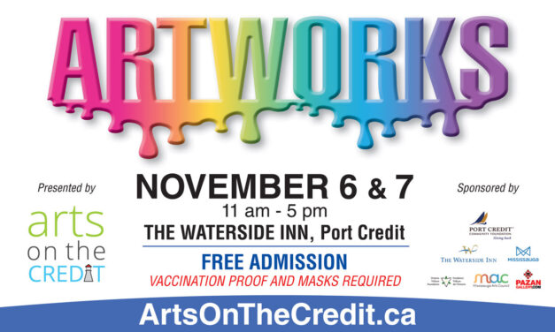 Lakeshore Art Trail's Holiday Online Market and Arts on the Credit at the Waterside Inn!