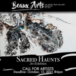 Call for Submissions: Sacred Haunts Art Exhibition