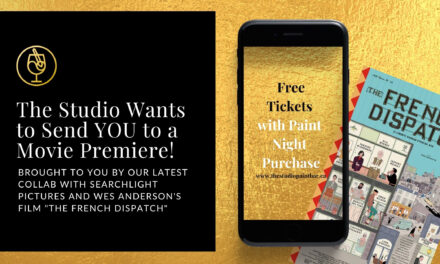 🎥FREE TIX to a WES ANDERSON MOVIE PREMIERE @ Studio Paint Bar